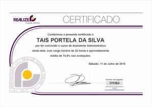 [Realize] Certificado U